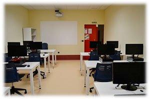 sala informática, centro de día discapacitados